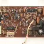 DENON (デノン) DP-80 サーボ回路基板 部品面 オーバーホール前