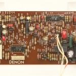 DENON (デノン) DP-80 サーボ回路基板 部品面 オーバーホール後