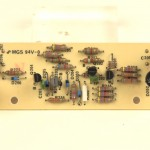 LUXMAN (ラックスマン) PD121 ストロボ回路基板 部品面 オーバーホール前