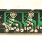 LUXMAN (ラックスマン) PD121 パワートランジスタ回路基板 半田面 オーバーホール前