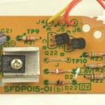 Technics (テクニクス) SP-15 サブ電源回路基板 部品面 オーバーホール前