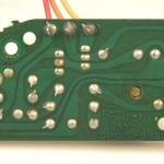 Technics (テクニクス) SP-15 サブ電源回路基板 半田面 オーバーホール前
