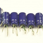 Technics (テクニクス) SP-15 緑青が発生した電解コンデンサ