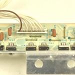 Technics (テクニクス) SP-10mk2A パワートランジスタ回路基板 部品面 オーバーホール前