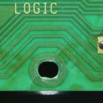 Technics (テクニクス) SP-10mk2A ひび割れが発生しているメイン回路基板 オーバーホール前
