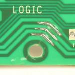 Technics (テクニクス) SP-10mk2A ひび割れ修正後のメイン回路基板