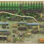 KENWOOD (ケンウッド) L-07D コントロール回路基板 部品面 オーバーホール前