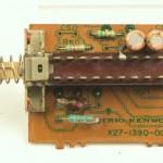 KENWOOD (ケンウッド) L-07D 前面スイッチ回路基板 部品面 オーバーホール前