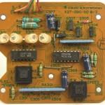 KENWOOD (ケンウッド) L-07D 本体スイッチ回路基板 部品面 オーバーホール前
