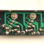 YAMAHA (ヤマハ) YP-1000 パワートランジスタ回路基板 半田面 オーバーホール前