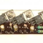 YAMAHA (ヤマハ) YP-1000 パワートランジスタ回路基板 部品面 オーバーホール後