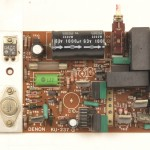 DENON (デノン) DP-6000 モータードライブ回路基板 部品面 オーバーホール前