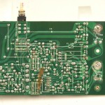 DENON (デノン) DP-6000 モータードライブ回路基板 半田面 オーバーホール前