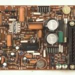 DENON (デノン) DP-6000 サーボアンプ回路基板 部品面 オーバーホール前