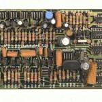 DENON (デノン) DP-6000 位相ロック回路基板 部品面 オーバーホール前