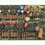 DENON (デノン) DP-6000 位相ロック回路基板 部品面 オーバーホール後