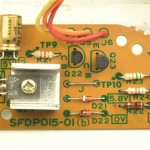 Technics (テクニクス) SP-15 サブ電源回路基板 部品面 オーバーホール後