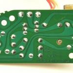 Technics (テクニクス) SP-15 サブ電源回路基板 半田面 オーバーホール後