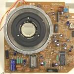 Technics (テクニクス) SP-25 メイン回路基板 部品面 オーバーホール前