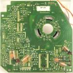 Technics (テクニクス) SP-25 メイン回路基板 半田面 オーバーホール前