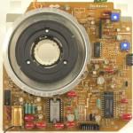 Technics (テクニクス) SP-25 メイン回路基板 部品面 オーバーホール後