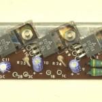 YAMAHA (ヤマハ) YP-1000mk2 パワートランジスタ回路基板 部品面 オーバーホール前