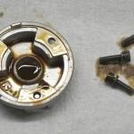 Technics (テクニクス) SL-1000mk3 スピンドル下部軸受分解時