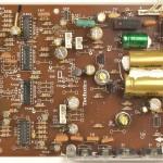 Technics (テクニクス) SL-1000mk3 電源・オペレーション回路基板部品面 メンテナンス前