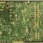 Technics (テクニクス) SL-1000mk3 電源・オペレーション回路基板半田面 メンテナンス前