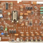 Technics (テクニクス) SL-1000mk3 ドライブ回路基板部品面 メンテナンス前