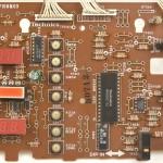 Technics (テクニクス) SL-1000mk3 オペレーション回路基板部品面 メンテナンス前