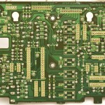 Technics (テクニクス) SL-1000mk3 オペレーション回路基板半田面 メンテナンス前