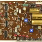 Technics (テクニクス) SL-1000mk3 電源・オペレーション回路基板部品面 メンテナンス後