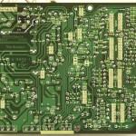 Technics (テクニクス) SL-1000mk3 電源・オペレーション回路基板半田面 メンテナンス後