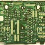Technics (テクニクス) SL-1000mk3 オペレーション回路基板半田面 メンテナンス後