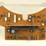 LUXMAN (ラックスマン) PD121A ストロボ点灯回路基板 部品面 オーバーホール前