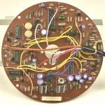 LUXMAN (ラックスマン) PD121A モーター制御回路基板 部品面 オーバーホール前