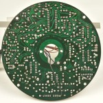 LUXMAN (ラックスマン) PD121A モーター制御回路基板 半田面 オーバーホール前
