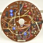 LUXMAN (ラックスマン) PD121A モーター制御回路基板 部品面 オーバーホール後