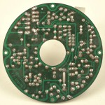 LUXMAN (ラックスマン) DP121 モーター制御回路基板 半田面 オーバーホール前
