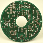 LUXMAN (ラックスマン) DP121 モーター制御回路基板 半田面 オーバーホール後