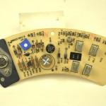 LUXMAN (ラックスマン) DP121 電源回路基板 部品面 オーバーホール後