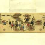 LUXMAN (ラックスマン) DP121 ストロボ点灯回路基板 部品面 オーバーホール後