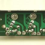 LUXMAN (ラックスマン) DP121 パワートランジスタ回路基板 半田面 オーバーホール後