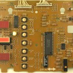 Technics (テクニクス) SP-10mk3 オペレーション回路基板 部品面 メンテナンス後