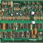 Technics(テクニクス) SP-10mk2 論理回路基板 部品面 メンテナンス前