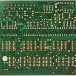 Technics(テクニクス) SP-10mk2 論理回路基板 半田面 メンテナンス前