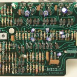 Technics(テクニクス) SP-10mk2 駆動回路基板 部品面 メンテナンス前