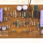 Technics (テクニクス) SP-10mk2 駆電源回路基板 部品面 メンテナンス前