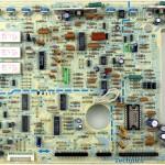 Technics (テクニクス) SP-10mk2A メイン回路基板 部品面 メンテナンス前